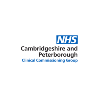 NHS Cambridgeshire and Peterborough Clinical Commissioning Group logo
