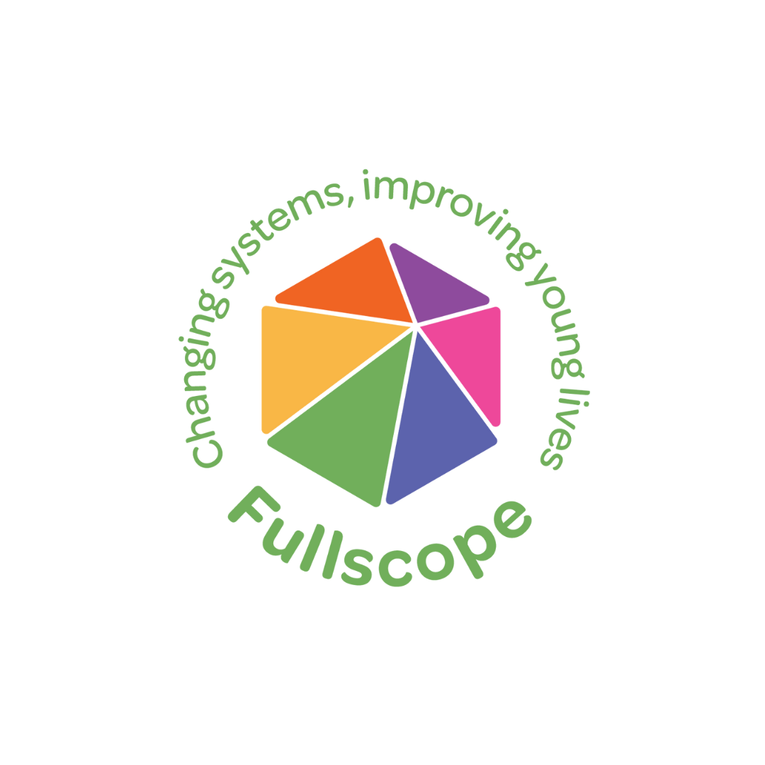 Fullscope changing systems, improving young lives logo